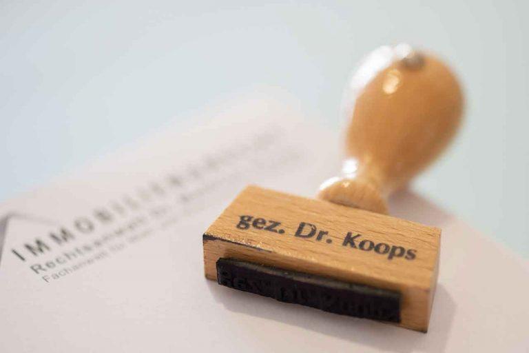 Rechtsanwalt Dr. Matthias Koops Idstein | Kanzlei für Erb- & Mietrecht